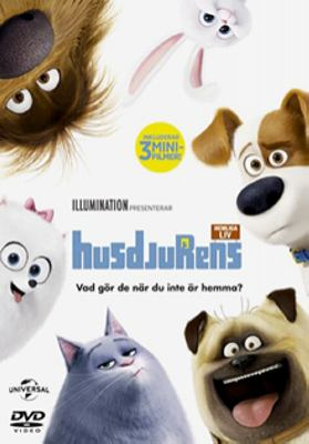 The secret life of pets [Videoupptagning] = Husdjurens hemliga liv / directed by Chris Renaud ; produced by Chris Meledandri, Janet Healy ; written by Cinco Paul & Ken Daurio and Brian Lynch ; co-directed by Yarrow Cheney