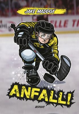Anfall! / Jake Maddox ; illustrationer: Sean Tiffany ; från engelskan av Bo Samulesson ; [text: Anastasia Suen].