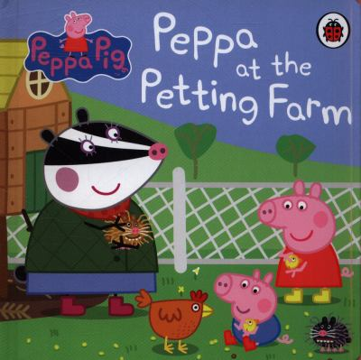 Peppa at the petting farm